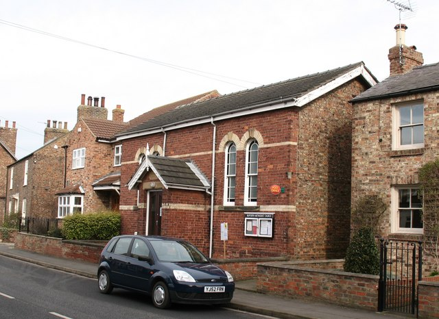 Methodist chapel and post office