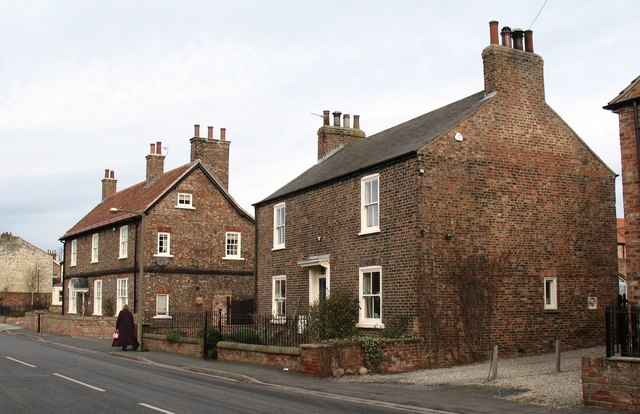 Village houses, Rufforth