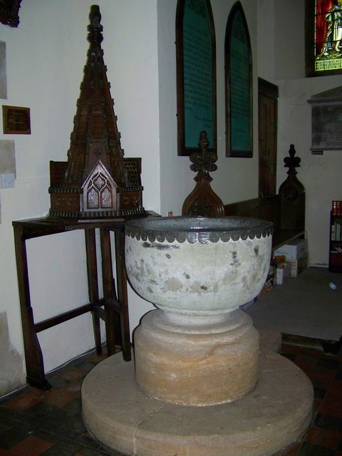 Font, St Mary's Church, Stalbridge