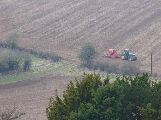 Field Work by South Warren Farm