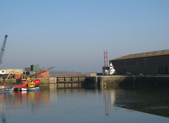 Dock gates, Glasson Dock