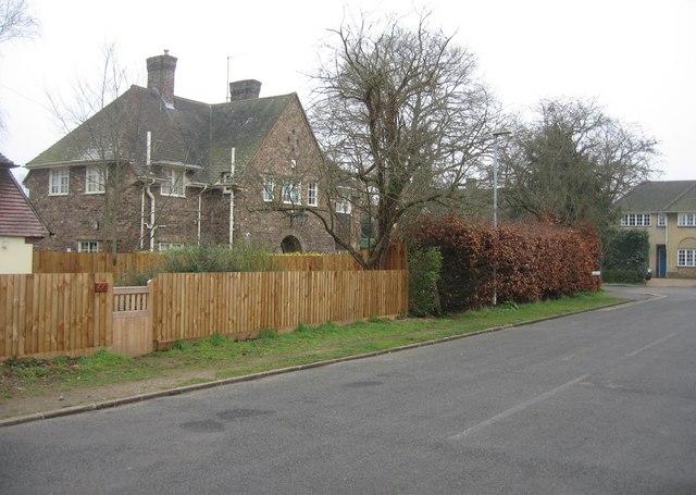 Last house in Newton Road before Bentley Road