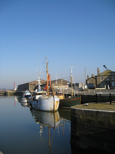 Moored at  Glasson Dock