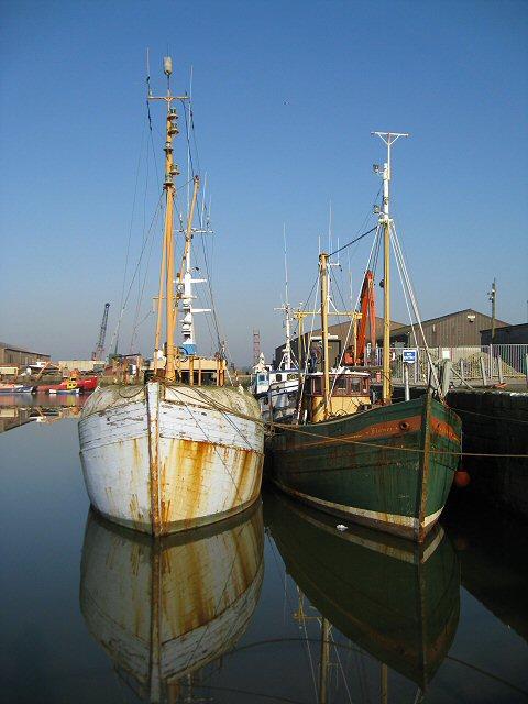 Fishing boats at Glasson Dock