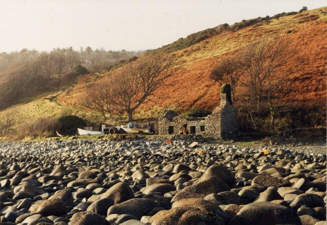 Ruin near Bryn Foulk
