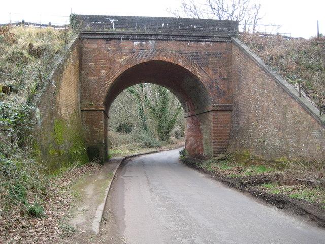 Witley: Culmer Lane railway bridge