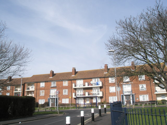 Junction of Bourne Road and Allaway Avenue