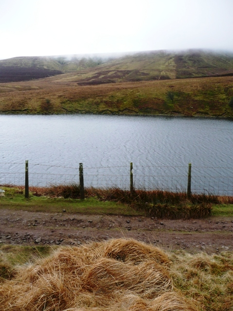 Across Grwyne Fawr reservoir