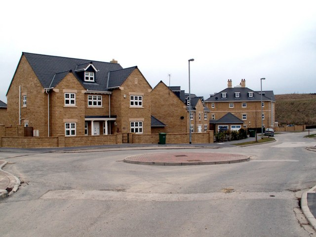 The Grange at the roundabout