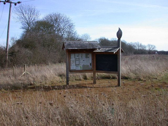 Information Stand, Coton Countryside Reserve
