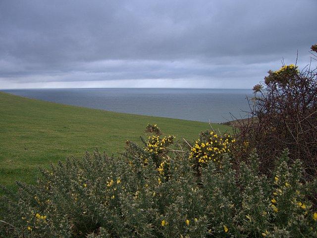 Coastal headland near Banc