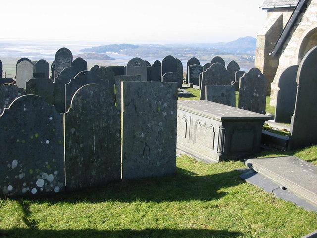 Mynwent Eglwys Llandecwyn