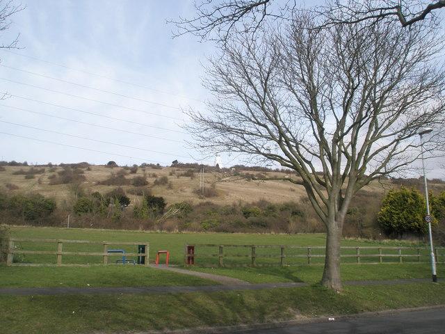 Small park near Lime Grove