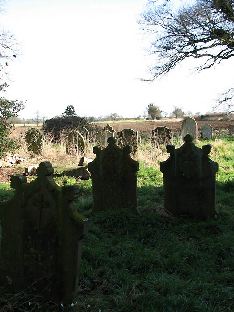 The church of St Nicholas - churchyard