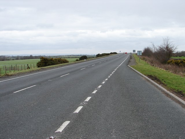 A75 Eastwards From the Lay-by
