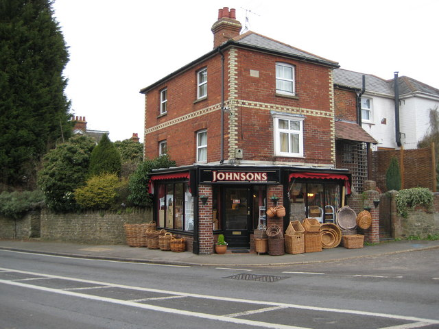 Witley: Johnsons Basket Shop, Petworth Road