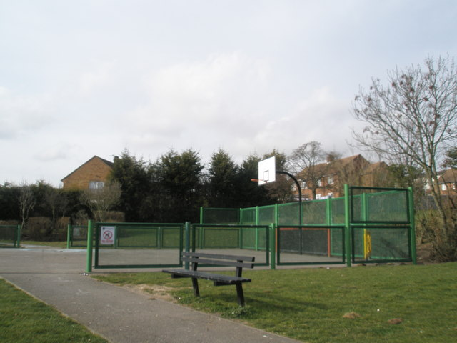Children's play area within St Michael's Rec