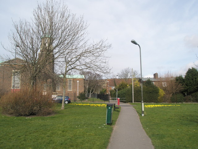 Pathway to St Michael's