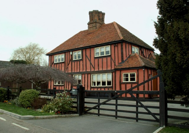 The farmhouse at Wells Farm