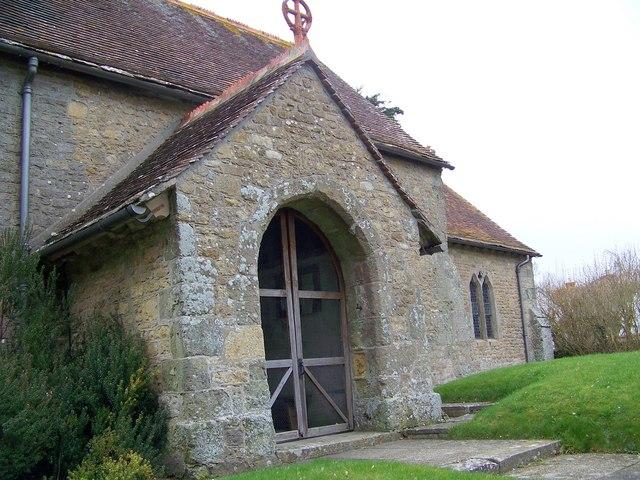 Porch, St Paul's Church, Hammoon