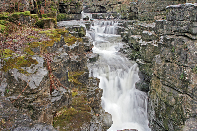 Waterfall on Bollihope Burn