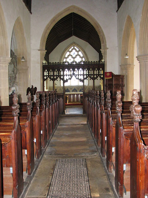 St Mary's church - view east
