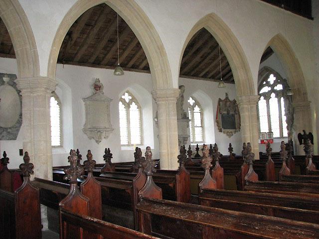 St Mary's church - wall monuments
