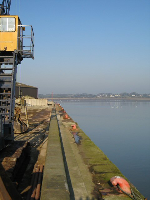 Moorings at New Quay, Glasson Dock