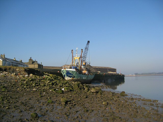 Moored at the New Quay