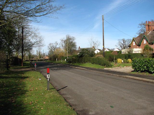 Woodrising Road through Cranworth