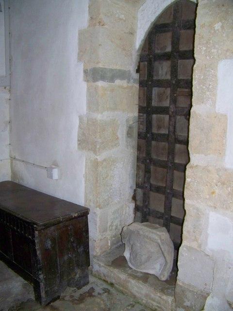 Priest Door, St Paul's Church, Hammoon