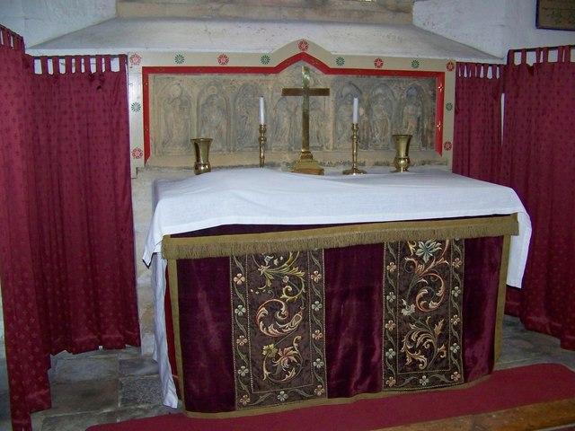 Altar and Reredos, St Paul's Church, Hammoon