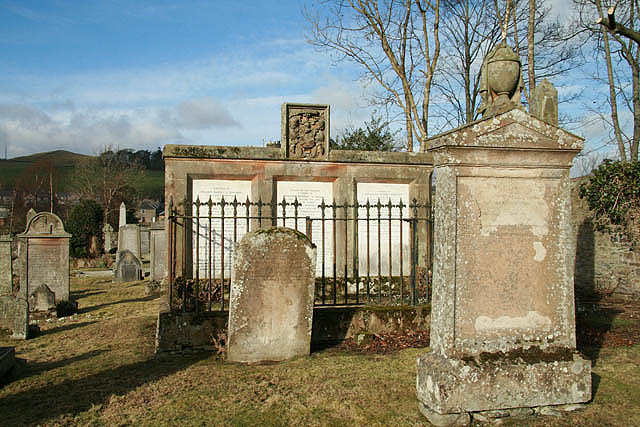 The graveyard at Stow Old Parish Church