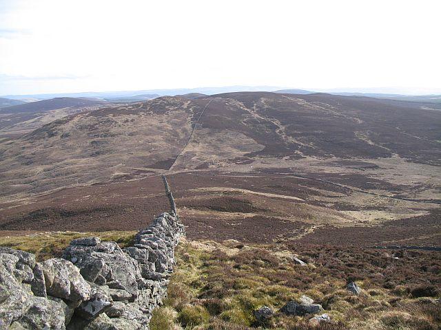 The March Dyke, Meall Mòr