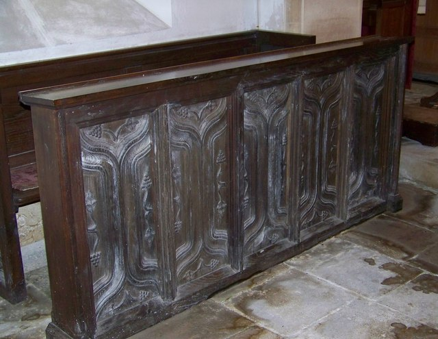 Choir stall, St Paul's Church, Hammoon
