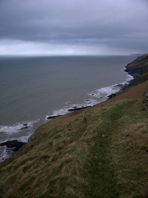 Clifftop path