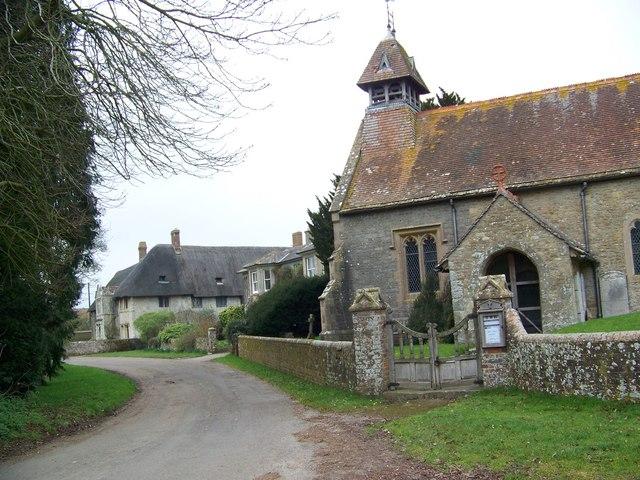 Church and manor house, Hammoon