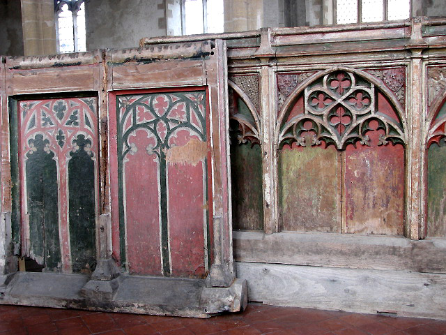 St James's church - rood screen