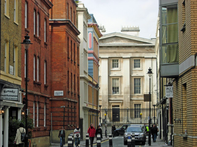 Coptic Street, Bloomsbury