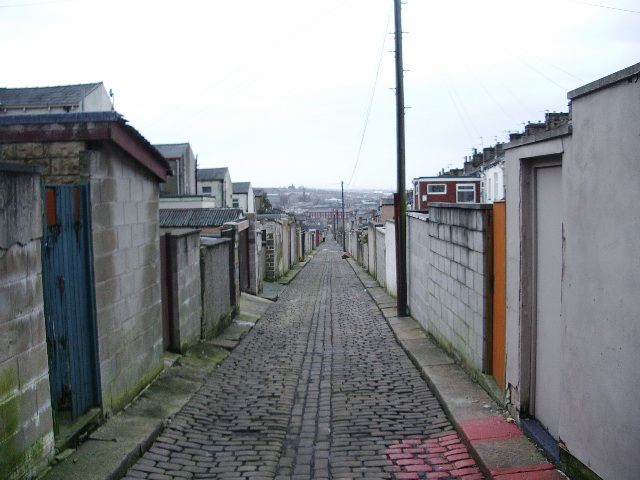 Back street, parallel with Water Street