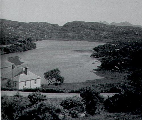 Loch Culag from near Strathan, July 1966