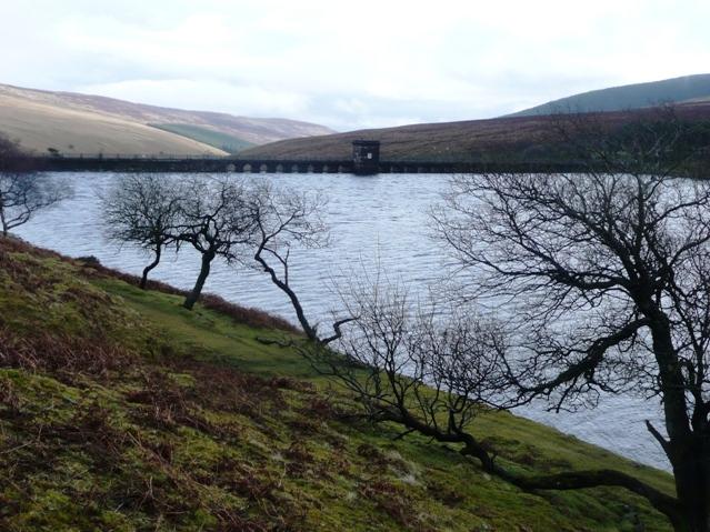 Grwyne Fawr reservoir