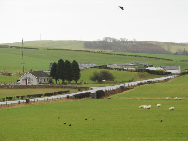 Byeloch and House from Near Meadowside