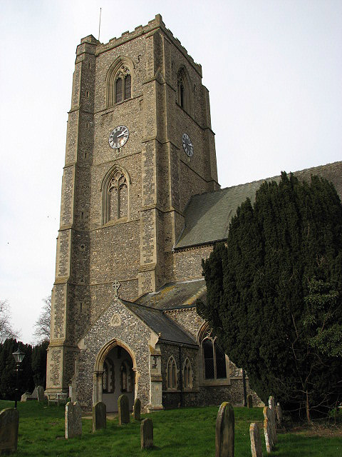 St Andrew's Church - porch and tower