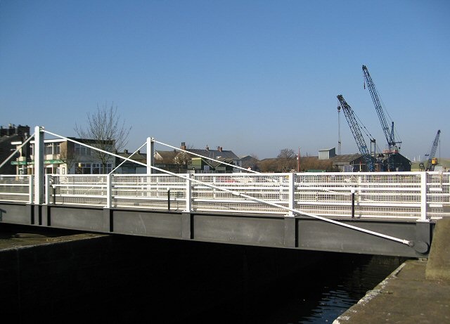 Swing Bridge at Glasson Dock