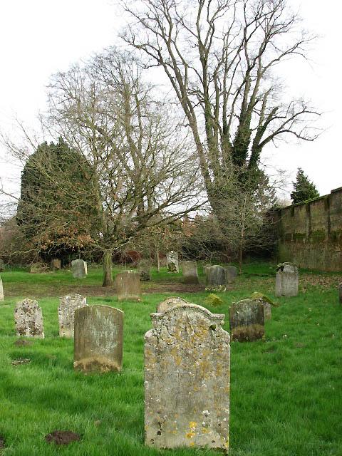 St Andrew's Church - churchyard
