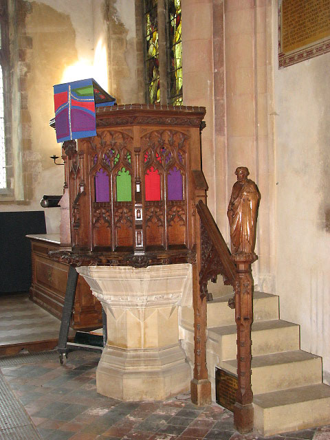 St Andrew's Church - pulpit