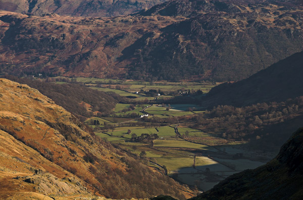 Borrowdale and farms