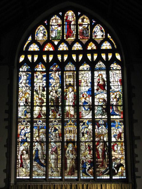 St Andrew's Church - east window