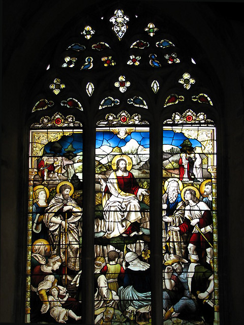 St Andrew's Church - east window in south aisle